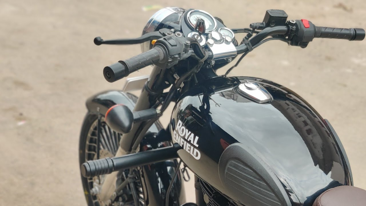 Royal Enfield classic 350 paint job |Bullet modified 🔥