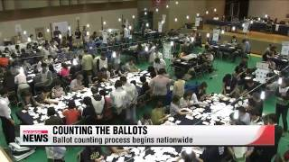 6/4 local election ballot counting station connect