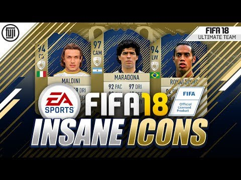 INSANE **NEW** ICON INFO!!! MORE ICONS ON THE WAY!?!? - FIFA 18 Ultimate Team
