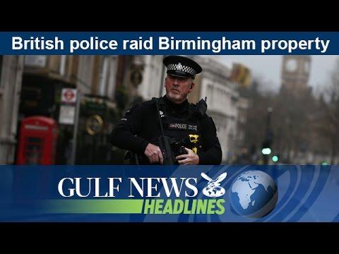 British police raid Birmingham property - GN Headlines