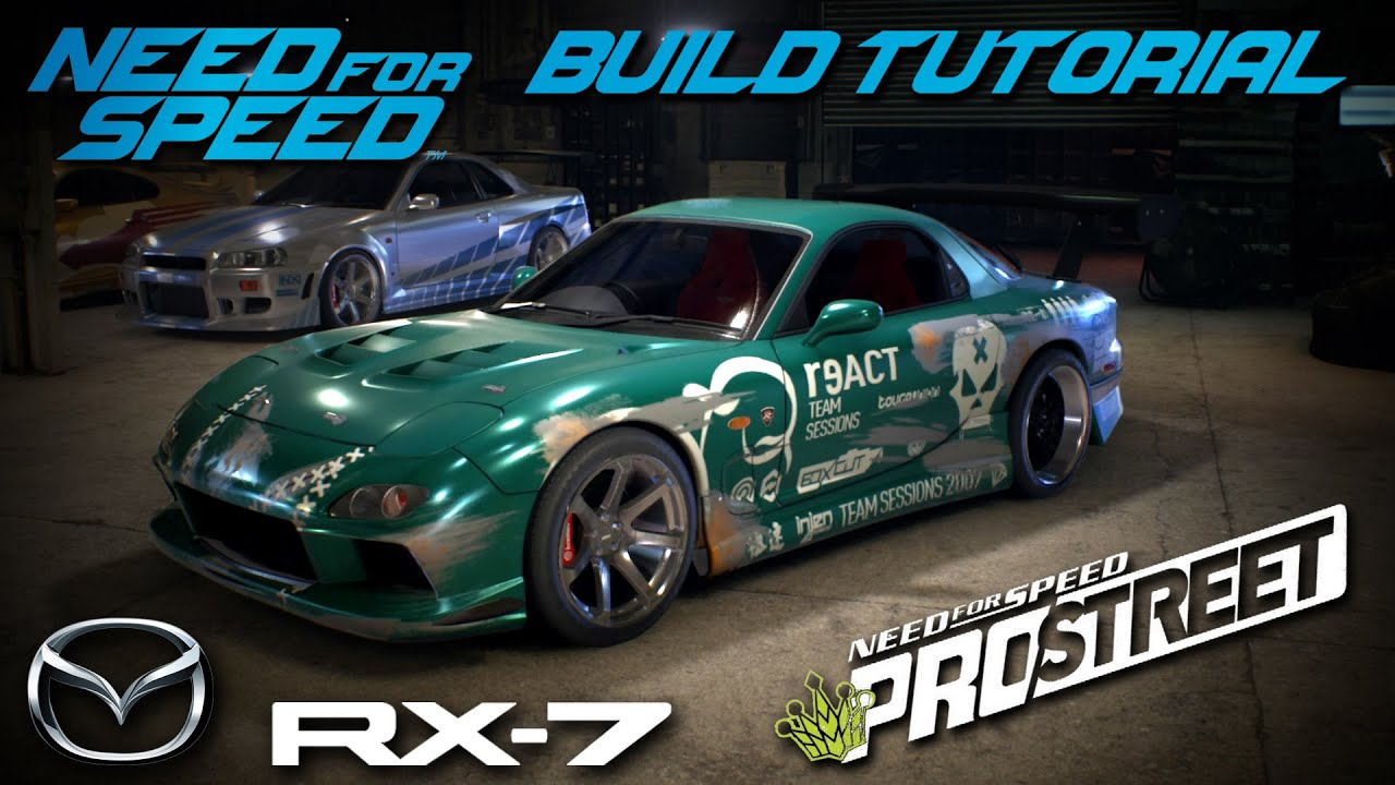 Need For Speed 2015 Pro Street Mazda Rx7 Build Tutorial