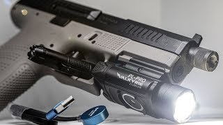 Olight PL-PRO Valkyrie Rechargeable Light Review and Test!