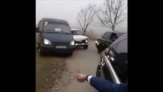 «Адский замес» свадебного кортежа со стрельбой сняли на видео в Ингушетии 20.11.2019