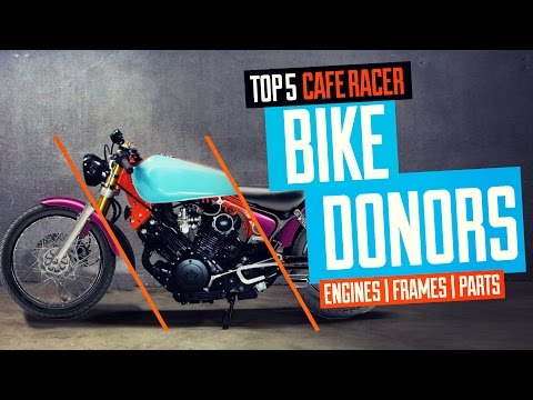 Top 5 Cafe Racer Bike Donors Video