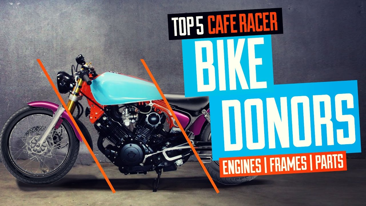 Top 5 Cafe Racer Bike Donors Youtube Honda Shadow 750 Kit