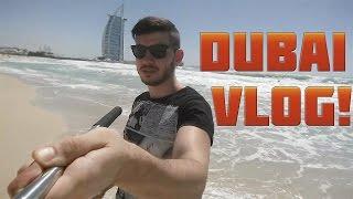 DUBAI VLOG!!! DUBAI FOUNTAINS / BURJ KHALIFA / BURJ AL ARAB /  JUMEIRAH BEACH / 2016 HD