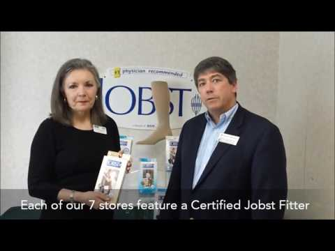Measuring for Jobst Compression Stockings - Liberty Oxygen and Medical Equipment