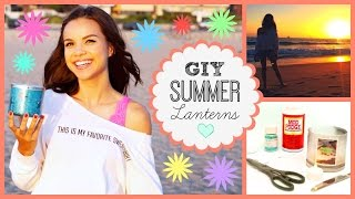 Upcycle Your Used Candles! ☆ GIY Summer Star Lanterns Thumbnail