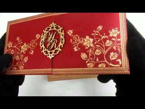 BWI-003 | Indian Wedding Cards Online | www.theweddingcardsonline.com