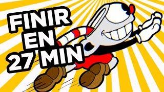 FINIR CUPHEAD EN 27 MINUTES (Feat. Leo Techmaker) [Laupok Speed Comment]