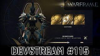 Warframe: Devstream #115 - Делюкс Нечжи,  Элитные Сигналы Тревоги