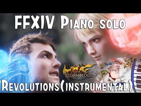 Final Fantasy XIV : Stormblood - REVOLUTIONS (Instrumental)
