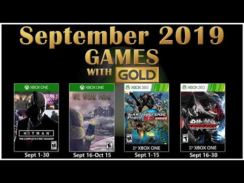 Xbox Gold Games September 2020.Xbox Live Games With Gold September 2019