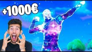 LO HE CONSEGUIDO !! TENGO LA SKIN DE GALAXY (+1000€) Fortnite Makigames