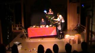 Simultaneous Nativity Play by Hugo Ball