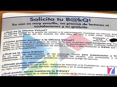 Barakaldo se convierte en el primer municipio que ofrece una oficina virtual con la tarjeta B@kQ