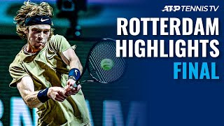 Rublev Chasing Fourth Consecutive ATP 500 Title vs Fucsovics | Rotterdam 2021 Final Highlights