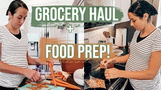 Large Grocery Haul Fall 2019 | Meal + Food Prep | Cook with Me