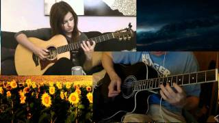 Improvised Acoustic solo of (Paddy Sun) Sunflower - Gabriella Quevedo Cover