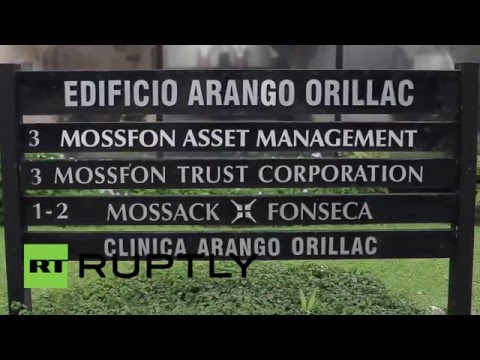 Panama: Press gather outside Mossack Fonseca HQ after 'biggest leak in history'