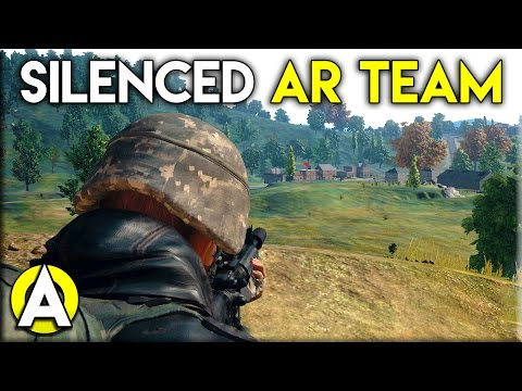 SILENCED AR TEAM - PLAYERUNKNOWN'S BATTLEGROUNDS