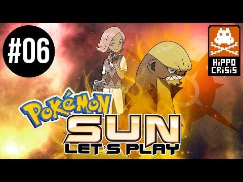 PART 6 - Normal Type Trial and Totem Pokémon! - Pokémon Sun & Moon Let's Play Walkthrough