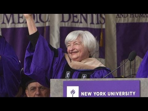 Yellen to Grads: You Won't Succeed All the Time