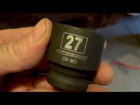 27MM HEX Socket For Hot Water Heater Anode Removal 1 1/16 Inch