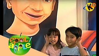 Epol Apple | Complete the Parts of the Painting's Face | Early Childhood Development