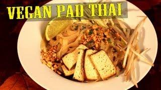 Pad Thai Recipe | Vegan | The Vegan Zombie