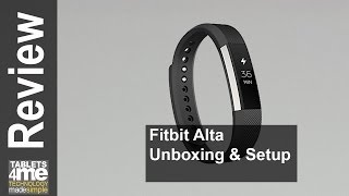 NEW fitbit Alta Unboxing and Setup