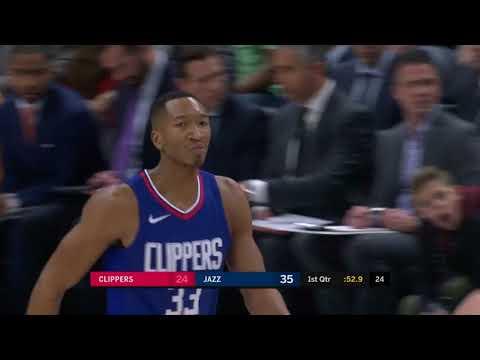 Wesley Johnson (17 points) Highlights vs Utah Jazz 1-20-18