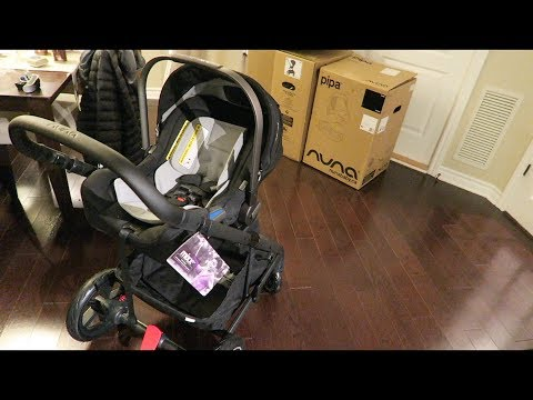 Nuna Pipa Review, Unboxing, and How to clean.