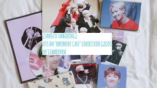 [FANSITE UNBOXING] BTS RM 'RMOMENT CAFE' EXHIBITION GOODS || BY STANDBYRM