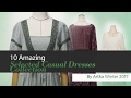 10 Amazing Selected Casual Dresses Collection By Artka Winter 2017