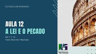 EBD - ROMANOS - Aula 12 - Escravos da Justiça - Rm 7.1-13 -  30-08-2020
