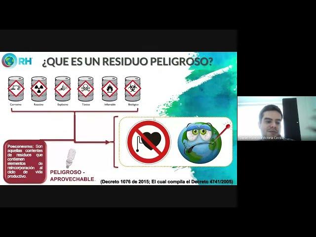 Gestión Integral de Residuos Peligrosos y Aplicación Sector Salud Resolución 2184 de 2019.
