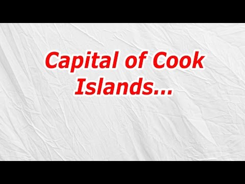 Capital of Cook Islands (CodyCross Answer/Cheat)