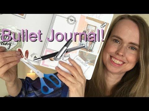 ASMR Bullet Journal Pagina Maken | Fluisteren | ASMR Nederlands