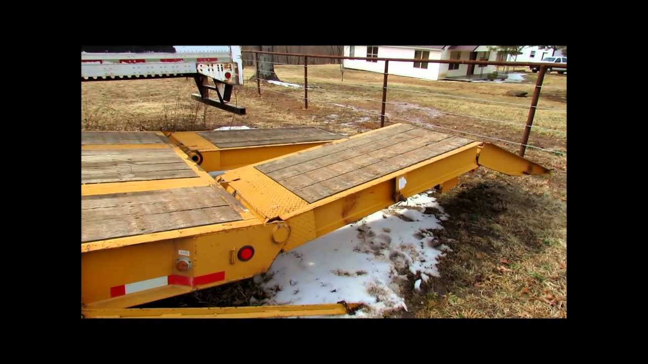 Asphalt Pavers For Sale >> 2005 Trailboss 35 ton paver special lowboy trailer for ...