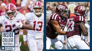 #1 Alabama at #24 Texas A&M Preview | Inside College Football