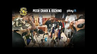 DRINK CHAMPS: Episode 35 w/ Peedi Crakk & Oschino | Talk State Property, Roc-A-Fella, Philly + more
