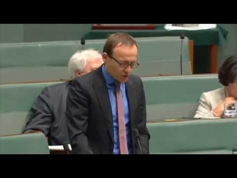 Adam's question to Tony Abbott re Chamberlain and Churchill