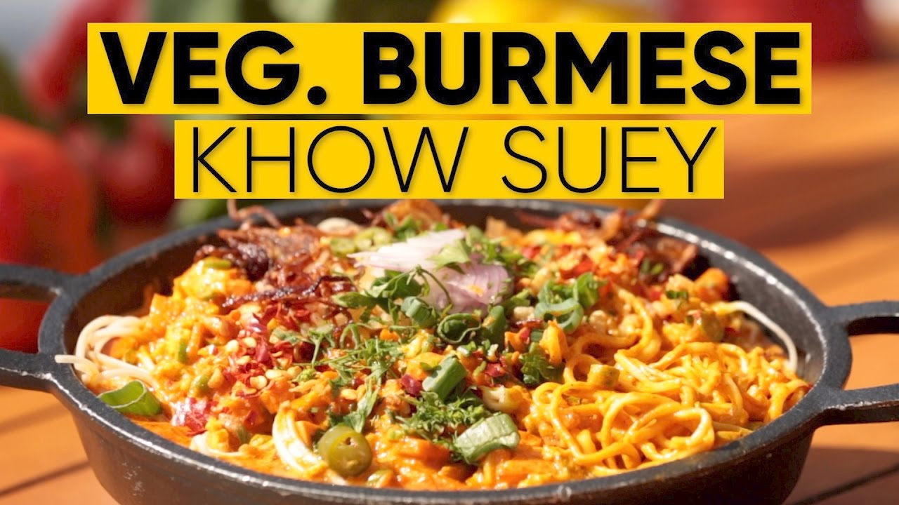 How to make veg burmese khow suey burmese khow suey recipe youtube burmese khow suey burmese khow suey recipe forumfinder Images