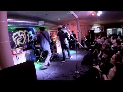 """Captain, We're Sinking """"Annina, We Will Miss You"""" live at FEST 13"""