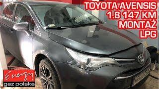 Montaż LPG Toyota Avensis z 1.8 147KM 2008r w Energy Gaz Polska na gaz BRC SQ 32