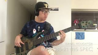 My Strength - Israel Houghton & New Breed [MTD 535-21 Norm Stockton spec bass cover - Timi]