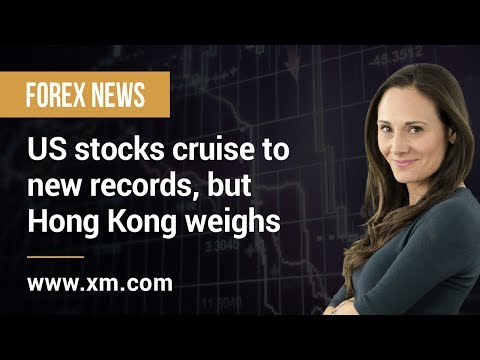 Forex News: 11/11/2019 - US stocks cruise to new records, but Hong Kong weighs