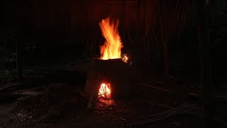 Primitive Skills: Furnace (How to make a clay furnace) - Part 2