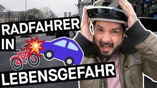 Selbstversuch: Wie gefährlich ist Radfahren in der Stadt? || PULS Reportage